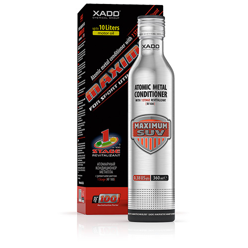XADO  MAXIMUM SUV 360 ML -  R.F 100 - REVITALIZANTE CERÂMICO PARA SUV